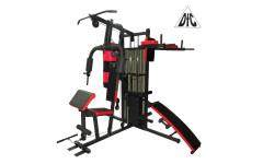 Силовой комплекс, брусья, скамья для пресса, бокс.мешок DFC D7005 (4 короба + 2 груза),    НОВИНКА