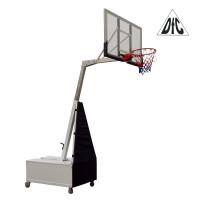 Баскетбольная мобильная стойка DFC STAND50SG 127X80CM поликарбонат (3кор)