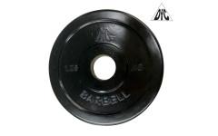 Диск обрезиненный DFC, чёрный 31мм, 1,25кг.