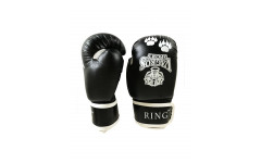 Перчатки боксерские VagroSport RING RS512, 12 унций, черный